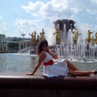Фотография страницы Оксаны Мининой ВКонтакте
