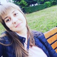 Фотография страницы Олички Луковець ВКонтакте