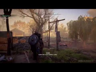 Assassin's creed Valhalla: Recruiting Cat as Raider New Gameplay