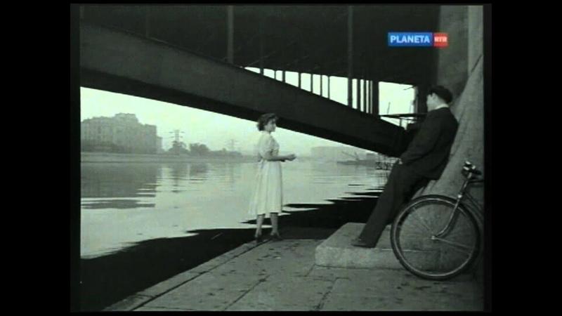 Тишина за рогожской заставою Юная Жанна Болотова Поёт Николай Рыбников Tishina Za Rogozhsskoi Rus