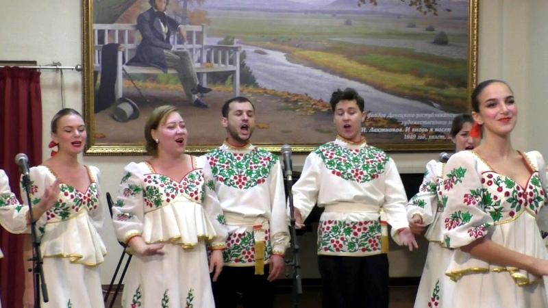 Финал конкурса исполнителей народной песни Голос Родины ансамбли