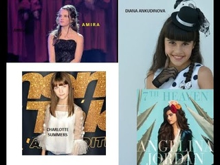 Fantastic four: Amira Willighagen, Angelina Jordan, Charlotte Summers, and Diana Ankudinova