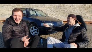 Интервью №1 Это Стас наш Казах!!! И его синий Honda Civic!