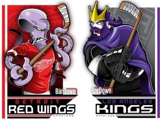 Detroit Red Wings vs Los Angeles Kings