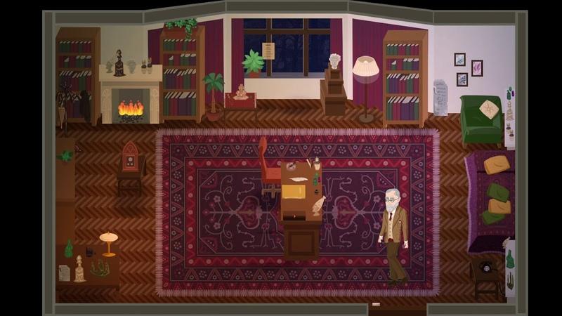 Freud's Bones The game Intro Coming soon on Kickstarter