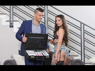 Vanessa Vega - Gets A Lesson In Anal Play / Устроила анальный урок  [Anal, Big Ass, Blowjob, Brunette, Doggy Style, Real Tits]