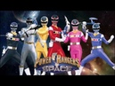 Power Rangers in Space Full Team Fan Art