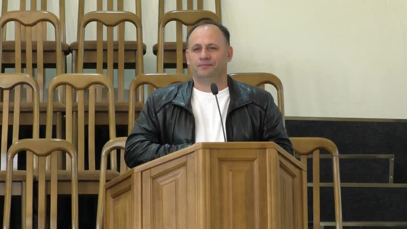 Утреннее Служение церковь ЕХБ Храм Спасения 22 11 2020