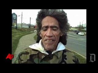 Raw Video: Homeless Man's Voice Gets Natl Buzz