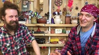 🍯 Андрей @Стройхак Эксклюзивное интервью Илье Калашникову Про глину Волшебство керамики