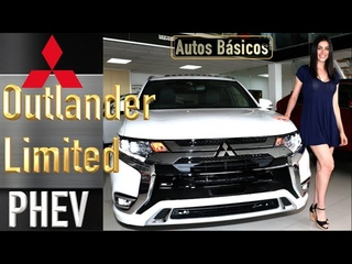 Mitsubishi Outlander Phev Limited El futuro de la SUV híbrida