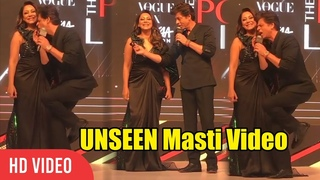 SRK Cute And Funny Moment With Wife Gauri Khan at Nykaa Fashion and Vogue India 2019