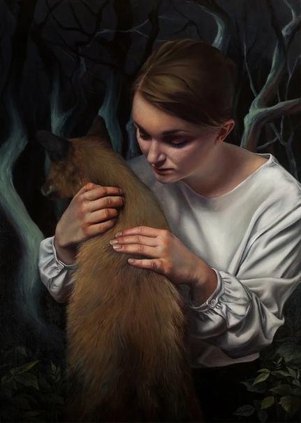 Художница из Польши Агнешка Ниенартович родилась в 1991 в маленьком городке Еленя-Гуры, который находится в Нижней Силезии После окончания школы Агнешка ни минуты не раздумывала о дальнейшем