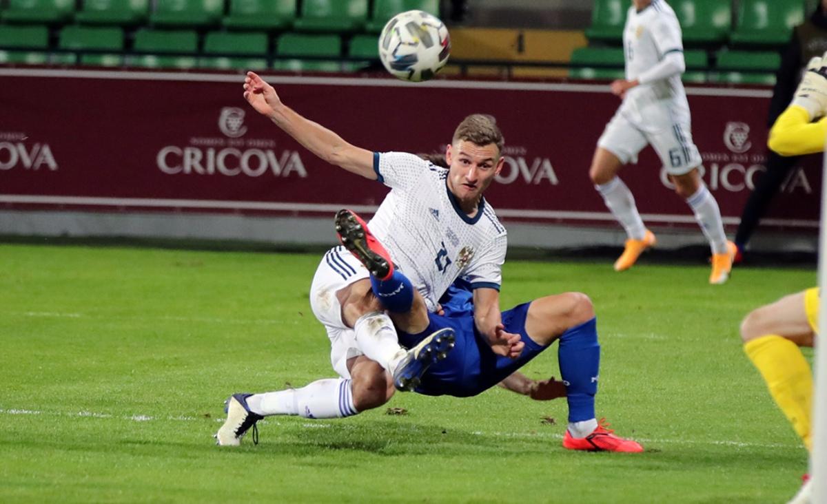 Молдова - Россия, 0:0. Товарищеский матч
