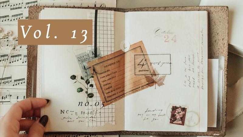 Journal Flip Through Vol 13 Traveler's Notebook
