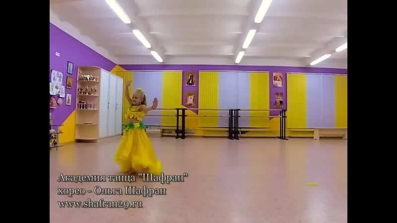 София Чуркина Номинация беби восточный танец Северодвинск