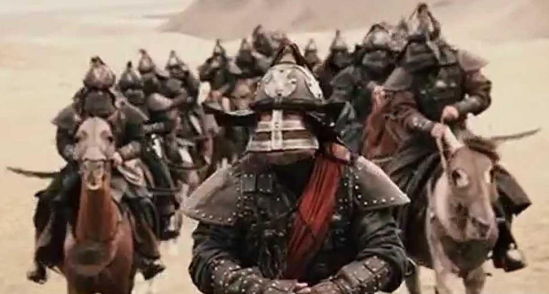 Отряд монголов