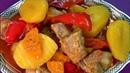 Просто вкусный рецепт Картошка с мясом или жаркое Каждый справится