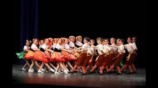 Итальянский танец  «ТАРАНТЕЛЛА», Ансамбль Локтева. 4К