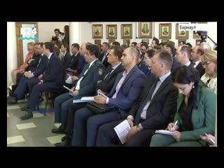 Виктор Томенко принял участие в итоговом мероприятии Конгресса предпринимателей Алтайского края