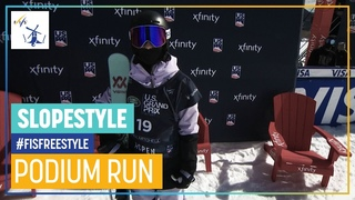 Kirsty Muir   2nd place   Women's Slopestyle   Aspen   FIS Freestyle Skiing