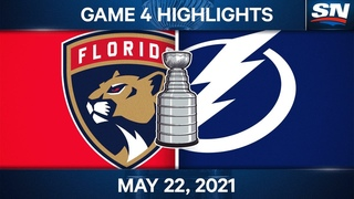 NHL Game Highlights | Panthers vs. Lightning, Game 4 - May 22, 2021