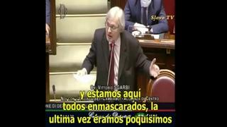 Пошла волна разоблачений. Обличительная речь депутата итальянского парламента
