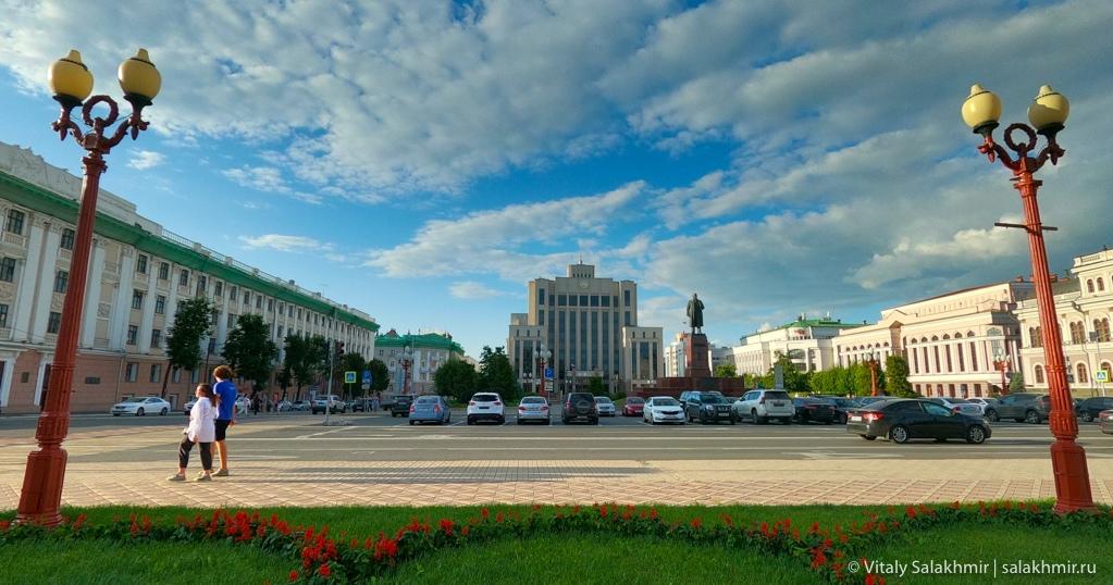 Площадь Свободы, Казань 2020