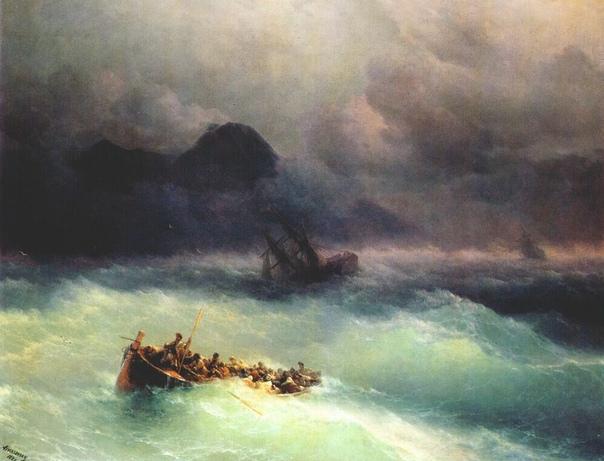 Морские катастрофы в творчестве Айвазовского