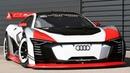 Audi e-tron quattro Vision Gran Turismo race car / sound
