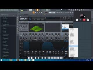 Пример индивидуального Skype урока по написанию музыки